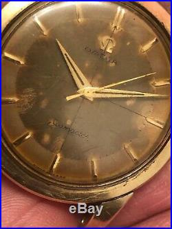 Vintage OMEGA Seamaster Watch Parts or Repair