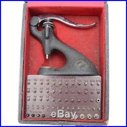 Vintage Original Watchmaker Seitz Friction Jeweling Set Repair Tool with Box