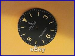 Vintage Rolex #1016 EXPLORER I Matte Black Repaired Dial