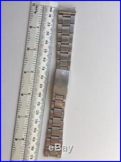 Vintage Rolex Bracelet 7836 Spare Parts Genuine Steel Repair End Lug 358 19mm