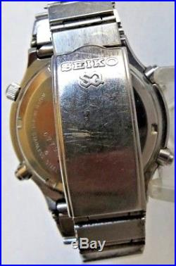 1a18aff16 Vintage SEIKO 7A28-7049 SPORTS 100 CHRONOGRAPH FOR PARTS OR REPAIR FREE SHIP