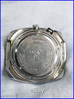 Vintage Seiko Bellmatic 17 Jewels Automatic Blue Watch 4006-6027 PARTS REPAIR