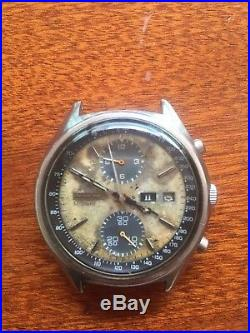 Vintage Seiko Panda 6138 8020 chronograph parts repair project