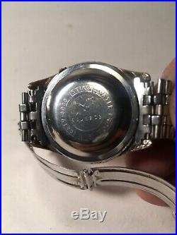 Vintage Seiko Sportsmatic 5 6619-8030 For Parts Or Repair