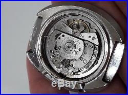 Vintage Seiko UFO 6138-0017 chronograph automatic watch for parts or repair