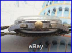 Vintage Swiss DOXA Chronograph Valjoux 22 For Parts/Repair