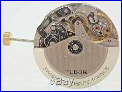 Vintage Tudor Prince ETA 7750 Automatic Chronograph Mens Wrist Watch for Repair