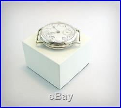 Vintage WW1 CYMA Case and movement, for parts or repair. Swiss