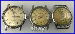 Vintage Watch Lot for Parts Or Repair