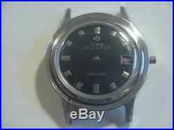 Vintage ZODIAC Aerospace GMT watch for parts or repair