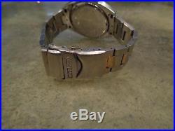 Vintage x3 Watch Lot Eco-Drive Eco Drive Original Bands Chrono Parts Repair