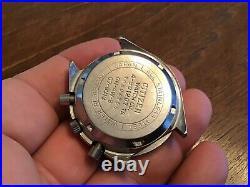 Vtg Citizen Speedy 67-9313 4-901207 Men Chronograph Watch As Is Parts Repair