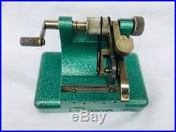 Watchmakers Flume Pivot Polisher Machine, Tools, Parts, Watch Repair