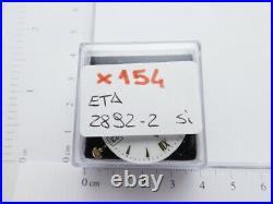 X154 Movimento Vetta Eta 2892-2 Running working sold for parts or repair