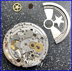 Zenith el primero cal 4054 chronograph non working, parts repair project
